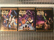 Star Wars Original Trilogy Dvds Unaltered Limited Edition Han Solo Shoots 1st