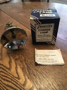 Rare Vintage Justrite Carbide Miners Lamp With Original Box And Instructions