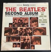 Capitol Record Club /// The Beatlesand039 Second Album- Stereo St8-2080 Vg+