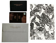 Starbucks Milan Reserve Roastery Card Matching Sleeve And Seattle Milano Card 2018