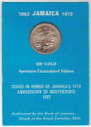 Gold Coins - Jamaica 20 Gold Coin - 10th Anniversary Of Independence 1962-1972