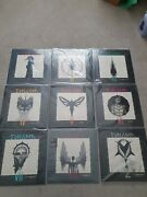 Enigma Coloured Vinyl, Mcmxc, Cross, Roi, Screen, Fall, Red,grey, Collection Lot