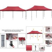 Gdy 10x20 Feet Pop Up Outdoor Canopy Tent, Commercial Instant Gazebos, Portable