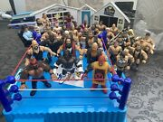 Wwe Mattel Retro With Custom Figures Ring In Your House