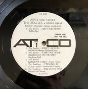 White Label Promo Issue Ainand039t She Sweet- The Beatles - Atco 33- 169 Vg+