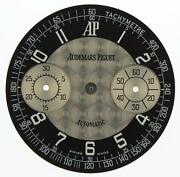 Audemars Piguet 31.15 Mm Black Silver Dial With Two Subdials