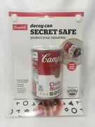 Campbells Soup Decoy Can Secret Safe Perfect For Hiding Cash-keys-jewelry And More