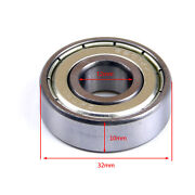 6201z 12x32x10mm Metal Spare Parts Sealed Deep Groove Row Ball Bearings Atv