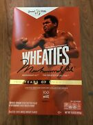 Wheaties Century Collection Gold Box 1 Muhammad Ali - Sold Out In Hand