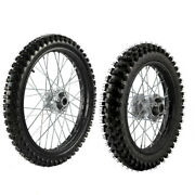 15mm Front 70/100-19 And Rear 90/100-16 Wheel Tire Rim For Pit Pro Trail Dirt Bike