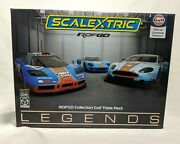 Scalextric Legends Rofgo Collection Gulf Triple Pack 132 Slot Cars