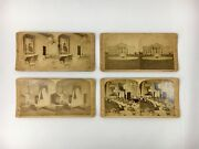 J. F. Jarvis White House Stereoscopic Views Stereograph Cards Lot Of 4