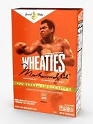 Wheaties Century Collection Gold Box 1 Muhammad Ali Sold Out Limited Edition