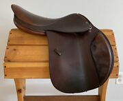 Tad Coffin A5gt 17-17.5andrdquo 7570 Close Contact/ Jumping Saddle