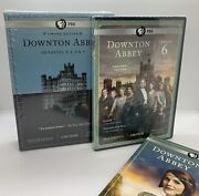 Pbs Masterpiece Downton Abbey Seasons 1, 2, 3 And 4 Limited Edition And Season 6 New