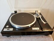 Kenwood Kd-770d Turntable With Ortofon 2m Red Moving Magnet Cartridge- Excellent