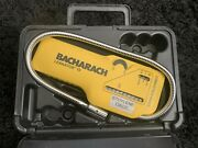 Bacharach Leakator 10 Portable Combustible Gas Leak Detector W/ Hard Case - Used
