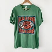 1996 Alice In Chains Eat Like A Pig Vintage Tour Band Rock Grunge Shirt 90s