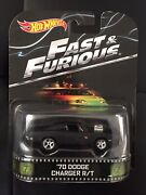 Hot Wheels Retro Entertainment Andldquofast And Furiousandrdquo Andlsquo70 Dodge Charger R/t
