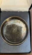 Rare Antique Montreal Aaa Hockey Club Winged Wheelers Sterling Silver Souvenir