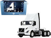 Volvo Vnr 300 Day Cab Roof Fairing Truck Tractor White 1/50 First Gear 50-3459