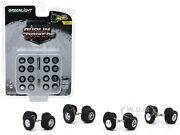 Dually Drivers Wheels And Tires Multipack Set Of 24 Pcs 1/64 Greenlight 16050 A