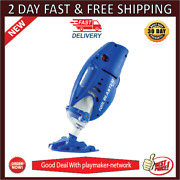 Pool Blaster Max Cordless Rechargeable Battery Powered Pool Cleaner With 10