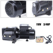 Shallow Well Jet Pump W/pressure Switch, 3/4hp Self-priming Water Pump 110v New