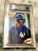 1994 Action Packed Derek Jeter Rookie Auto Bgs Gold Foil New York Yankees Rc