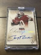 2014 Panini Immaculate Jerry Rice Super Bowl Champions Auto 1/1 Sf 49ers