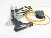 Panduit Pct Tool Hand Piece With Pctbm Stand And Clipper 3c-30a2-s Pedal Valve