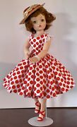 Vintage Madame Alexander Cissy In Gorgeous Professionally Made Dress