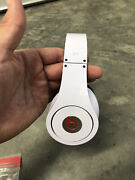 Beats By Dr. Dre Studio Wired Headband Headphones - White Perfect Condition
