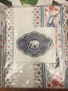 New Anthropologie Dassi Queen Paisley Floral Cotton Duvet Cover By John Robshaw