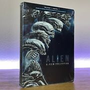 New And Sealed Alien 6-film Collection Steelbook Blu-ray + Digital Read Details