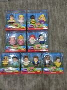 Fisher-price Little People Disney Princess 2 Pack Lot. 7 Two-packs 14 Figures