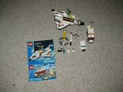 Lego City 3366 Launch Pad And 3367 Space Shuttle Complete W/manuals