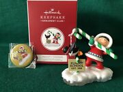 Hallmark Frosty Friends 2019 Koc Event Exclusive - Repaint + Pin From Event Mib