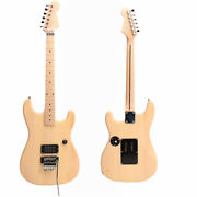 Unfinished Charvel Guitar Electric Guitar Kits Basswood Body Maple Neck H Pickup
