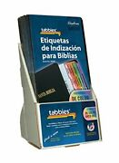 Tabbies 20 Pack With Display Rainbow Spanish Catholic Bible Indexing Tabs Old...