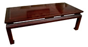Lacquered Chinese Style Coffee Table By Bakerandrsquos Historic Charleston Collection