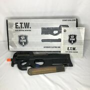 Echo1 E90 P90 Airsoft Gun With Extra Clip Tested And Works Great Discontinued