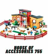 Playmobil Tiny Paws Pet Hotel Doll Building Kids, Fun Pretend Toy Gift Playset