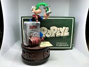 New Auth Zippo 1998 Limited Edition Popeye Lighter And Music Box Set No.0022