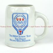 1984 7-eleven Convenience Stores Olympics 4½ Inch 0.5l Beer Mug Taverntrove