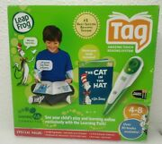 Leap Frog Tag Reading System 10 Books Included Touch Reading Usb