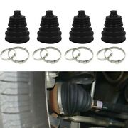 Silicone Split Cv Drive Shaft Boot Kit Universal-round Clamp Replacement Set