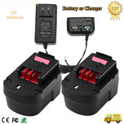 12v 3.6a Battery Or Charger For Black And Decker Firestorm Hpb12 A1712 Fsb12 A12
