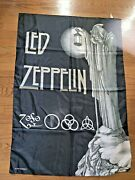 Led Zeppelin Stairway To Heaven Tapestry Cloth Poster Flag Wall Banner 30x40