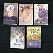 Amish Fiction Beverly Lewis 5 Book Complete Set Abramand039s Daughters Paperback